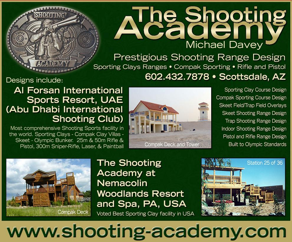 Sporting Clays Course Design Shooting Academy Sporting