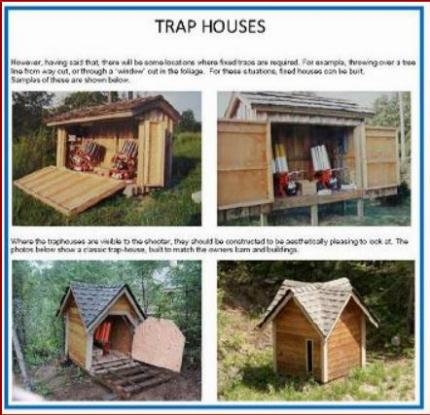 Skeet trap house plans house plans Trap house plans