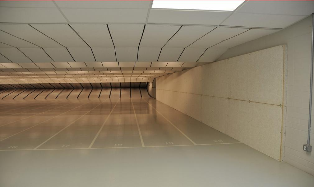 Indoor Shooting Range Design 25 Meter Pistol